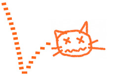 stock market trading term - dead cat bounce