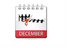 December Unemployment - Illustration