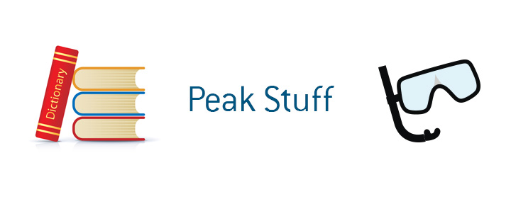 The definition of the term Peak Stuff when it comes to financial and lifestyle choices.