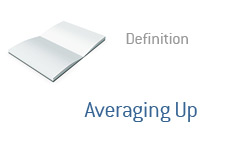 -- Term definition - Averaging up --