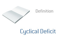 -- Cyclical Deficit Definition - Financial Term --