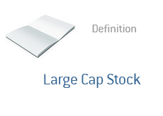 -- Dictionary term definition - Large Cap Stock --
