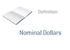 -- Finance term definition - Nominal Dollars --