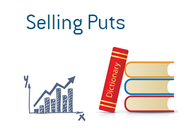 Definition of Selling Puts - Financial dictionary - Chart illustration