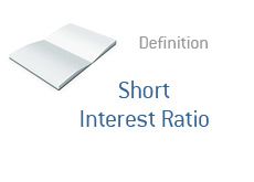 -- Finance term definition - Short Interest Ratio --