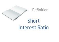 -- Finance term definition - Short Interest Ratio --
