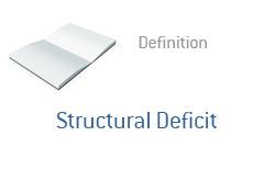 Finance Term Definition   Structural Deficit