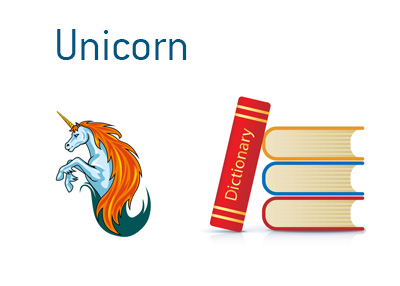 Definition of Unicorn - Financial dictionary - Illustration