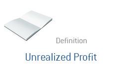 -- Finance term definition - Unrealized Profit --