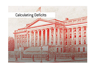 The calculation of deficit numbers in the United States can be done in more ways than one.