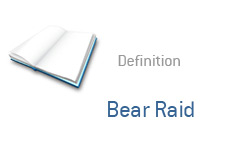 -- term definition - bear raid --