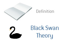 -- financial term definition - black swan theory --