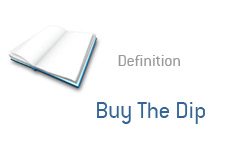 -- finance term definition - buy the dip --