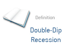 -- financial term definition - double-dip recession --