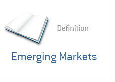 financial term definition - emerging markets