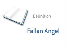 financial term definition - fallen angel