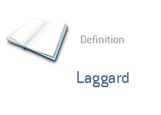 -- What is Laggard - finance term --