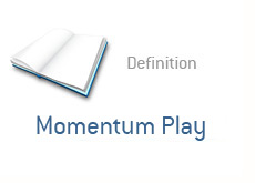 financial term definition - momentum play / momo play