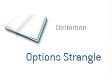 -- finance term definition - options strangle --