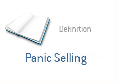finance definition - panic selling