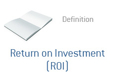 -- Financial definition - Return on Investment - ROI --
