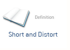 financial term definition - short and distort