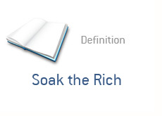 finance term definition - soak the rich