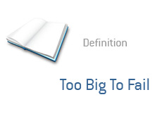 -- Term definition - Too Big To Fail --