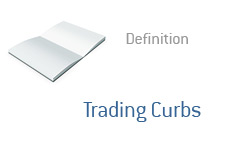 -- Term definition - finance - What are Trading Curbs --