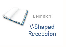 finance term definition - v shaped recession