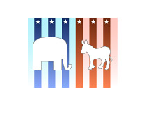 -- Elephant vs. Jack Ass - Democrats vs. Republicans --