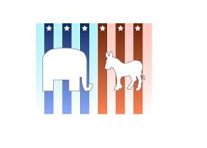 -- Elephant vs. Jack Ass - Democrats vs. Republicans --