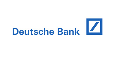 Deutsche Bank logo - Year 2016 - Blue colour on white background