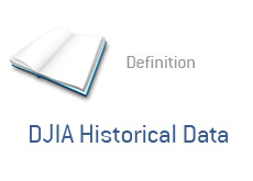 -- Definition - DJIA Historical Data --