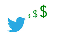 Dollar Tweet - Illustration