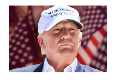 Presidential candidate Donald Trump - Campaign photo - August 2016