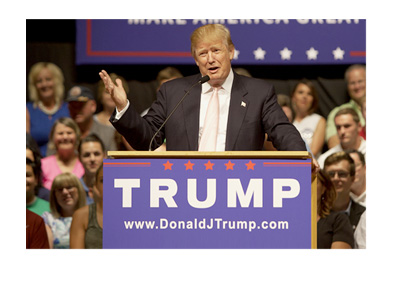 Donald Trump - 2016 Elections - Rally - Collage