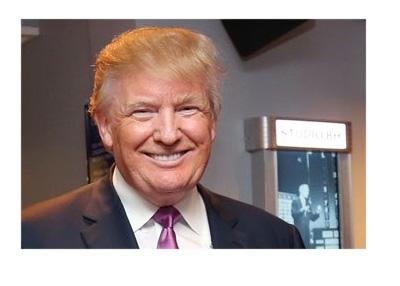 Nicer, Kinder Donald Trump - Campaign photo - Twitter