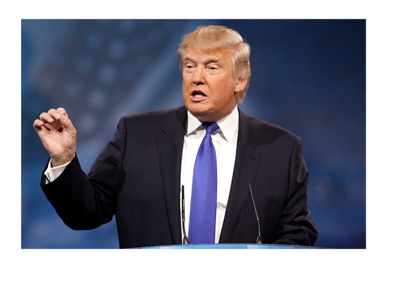 Donald Trump - Making a point - 2013 Conservative Political Action Conference (CPAC)