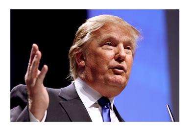Donald Trump giving a speech in 2011