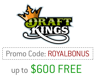 DraftKings Promotion Code - ROYALBONUS - Presented by DaveManuel.com