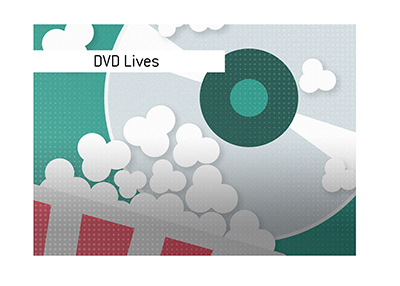 The DVDs continue to live.  Illustration.