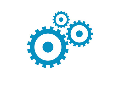 Economy Cogs - Gears - Illustration