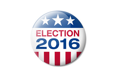 USA Election 2016 - Badge