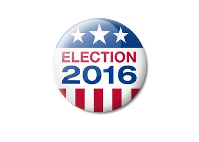 USA Election 2016 - Badge