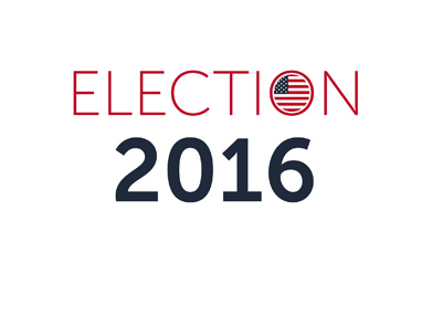 United States of America Elections 2016 - Logo / sign.
