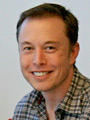 Elon Musk in the office