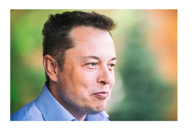 Elon Musk photo - Allen & Company Conference - July 2015