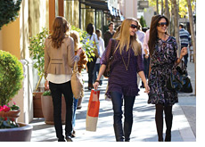 -- girls shopping - european recession ends --