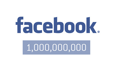 Facebook reaches 1 billion users in one day for the first time - Illustration / logo